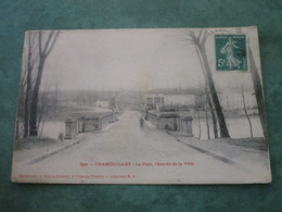 CHAMOUILLEY - Le Pont, L'Entrée De La Ville - Sonstige Gemeinden
