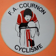 AUTOCOLLANT STICKER - F.A. COURNON - 63 - CYCLISME - Cyclisme