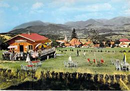 "38 - ST MAURICE En TRIEVES :  Restaurant Motel "" Le Chalet "" Camping Club - CPSM Village (155 H ) Grand Format - Isère - Sonstige Gemeinden"