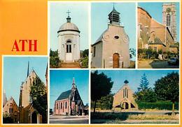 Belgique - Ath - Six Edifices Religieux - Multivues - Carte Neuve - CPM - Voir Scans Recto-Verso - Ath