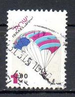ISRAËL. N°1308 Oblitéré De 1996. Parapente. - Fallschirmspringen