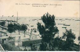 D33  ANDERNOS LES BAINS  Panorama De La Plage - Andernos-les-Bains