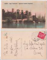 Isola Maggiore - Castello Guglielmi O Castello Isabella, Lago Trasimeno, Approdo Castello Guglielmi, Viaggiata 1931 - Altre Città