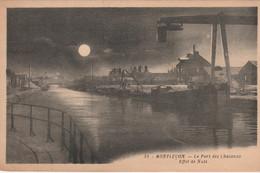 N°6082 R -cpa Montluçon -le Port Des Chalands- Effet De Nuit- - Montlucon