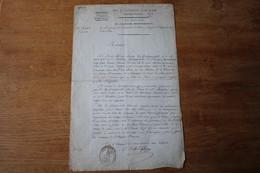 Egligny  1806 Demande De Rentrer Dans La Garde D'Honneur Lettre Motivation - Historische Documenten