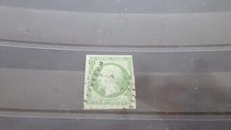 LOT516679 TIMBRE DE FRANCE OBLITERE N°12  DEPART A 1€ - 1853-1860 Napoléon III