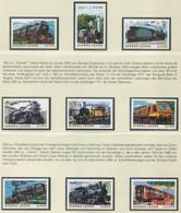 SIERRA LEONE / MiNr. 3249 - 3257 / Lokomotiven Aus Aller Welt / Postfrisch / ** / MNH - Trenes