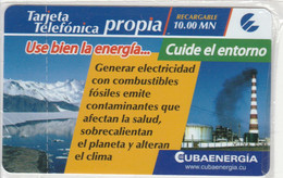 PREPAID PHONE CARD CUBA (E67.30.7 - Cuba