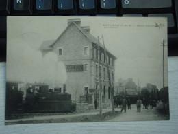 Cpa MATIGNON Hôtel Garnier. Train En Partie - Locomotive - 1916 - Sonstige Gemeinden