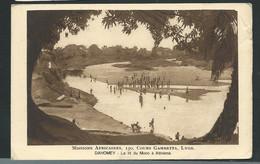 Missions Africaines , 150 , Cours Gambetta , Lyon - Dahomey - Le Lit Du Mono à Athiémé ( Plis Dans Un Angle  - Lam09 - Dahomey
