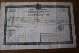 Empire Français  Congé De Libération  SAVOIE  CHAMBERY 53 Eme Régiment D'Infanterie - Autografi