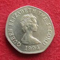 Jersey 20 Pence 1994 KM# 66 - Jersey