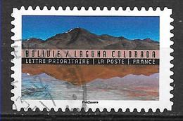 FRANCE Adhésif Oblitéré Tourisme Durable 1363 BOLIVIE Oblit Ronde - Adhesive Stamps