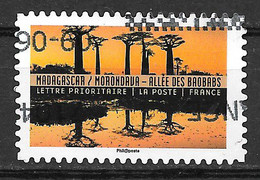 FRANCE Adhésif Oblitéré Tourisme Durable 1368 Baobabs - Adhesive Stamps