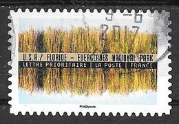 FRANCE Adhésif Oblitéré Tourisme Durable 1370 Floride Everglades National Park - Adhesive Stamps