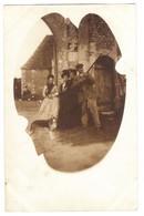 CPP 114 - CARTE PHOTO - NIBELLE (45) - Chateau Du Hallier, Chasse - Altri Comuni