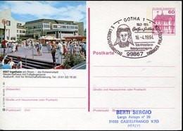 59212 Germany, Special Postmark 1994  Gotha,   Bertha Von Suttner,  Prix Nobel  Nobel Prize - Premio Nobel