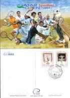 2004 QATAR  Tennis Championship Gams Postcard - Qatar