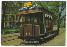 Z03 - Belgium - Brussels - Mixed Tramcar No 346 California - Strassenbahnen