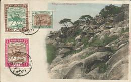 000183 - SOUDAN - SUDAN - VILLAGE ON THE WHITE NILE - 1911 - Sudan