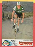 Francesco Moser - Non Viaggiata - FORMATO 12x17 - Cycling