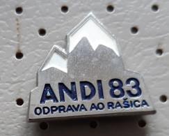 Expedition ANDI 1983 Ao Rasica Alpinism, Mountaineering Slovenia Ex Yugoslavia Pin - Alpinisme, Beklimming