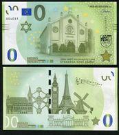 01 SLOVAKIA-MEMO Euro NOVE ZAMKY-Ersekujvari Synagogue-Synagoge JUDAICA 5000 Pcs NEWS-Nouvelles UNC 2020 - Privatentwürfe
