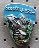 Okreselj 1378m Alpinism, Mountaineering Slovenia Pin - Alpinisme, Beklimming