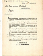 1866 BELLUNO PLEBISCITO - Documenti Storici