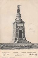 CALTANISSETTA - MONUMENTO A S.S. REDENTORE SUL MONTE S. GIULIANO - Caltanissetta