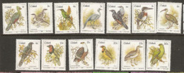 Ciskei   1981 Birds  Various Values  Unmounted Mint - Ciskei