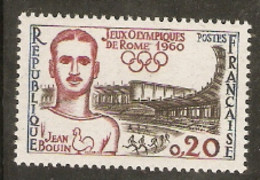 France  1960 SG 1496  Rome Olympics Jean Bouin  Unmounted Mint - Ete 1960: Rome