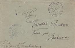 1913 GARIAN/TRIPOLITANIA C.2 (29.5) Su Busta - Libia