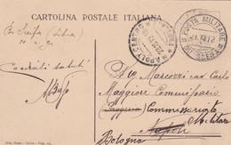 1912 POSTA MILITARE/BU SCEIFA LIBIA C.2 (21.10) Su Cartolina - Libia