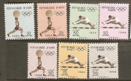 Haiti  1964  SG 893-9 Tokyo  Olympic   Unmounted Mint - Summer 1964: Tokyo