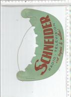 FA / RARE Ancienne CASQUETTE PUBLICITAIRE @@ SCHNEIDER Radio Télévision - Casquettes & Bobs