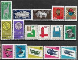 GDR 1965-6   6 Sets  MNH  2016 Scott Value $10.45 - [6] Democratic Republic