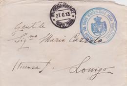 1913 INTENDENZA GENERALE/TRIPOLITANIA C.2 (27.6) E Tondo Comando Corpo D Occupazione Della Tripolitania Su Busta - Libia