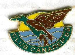 Pin's Canard Duck Oiseau CANAREP - Animali