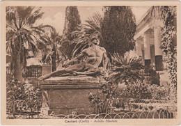 1942 CORFU' Gasturi Achille Morente Viaggiata Manoscritto Corfu' (30.10) - Griechenland