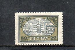 LITUANIE 1932 * - Lituania