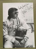 Autographe Jackie Stewart. F1 - Autographes