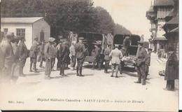 Hôpital Militaire Canadien - Saint-Cloud - Arrivée Des Blessés (Guerre) - Saint Cloud