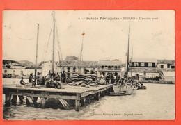 ZBG-36  Guinée-Bissau  Guinée Portugaise BISSAO. Ancien Warf. Used To Switzerland, Stamp Missing - Guinea-Bissau
