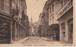 Lot De 4 Cpa NEVERS Avenue De La Gare, Quais De Loire, Rue Du Commerce, Couvent Ste Bernadette - Nevers