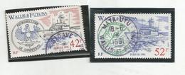 405 Et408   Bateaux   Beaux Cachets (clasyverou9)p - Wallis Und Futuna