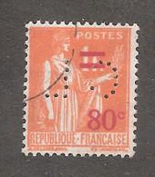 Perforé/perfin/lochung France No 359 CL Crédit Lyonnais (208) - Perforés
