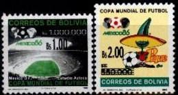 Bolivia 2006 CEFIBOL 1873-74 ** Campeonato Mundial De Fútbol Alemania 2006. Emisión De Servicio: Habilitadas Nuevo Valor - Bolivia