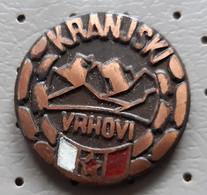 Kranjski Vrhovi  Alpinism, Mountaineering Slovenia Vintage Pin - Alpinisme, Beklimming