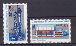 Leipziger Herbstmesse 1981, ** - [6] Democratic Republic